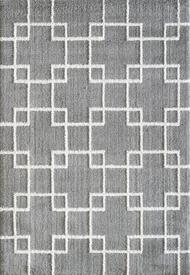 Expo Silky Shag 5901 Gray/Silver