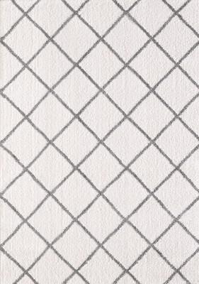 Expo Silky Shag 5920 White/Ivory