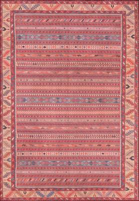 Momeni Afshar Afs-5 Red/Burgundy