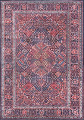 Momeni Afshar Afs10 Red/Burgundy