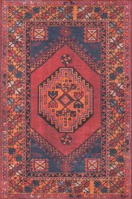 Momeni Afshar Afs16 Red/Burgundy
