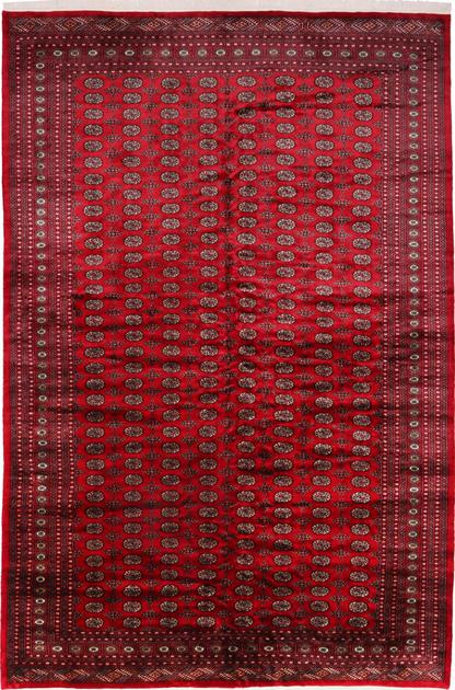 "Hand Made Pakistan Kashan 10'6"" x 15'8"" Red"