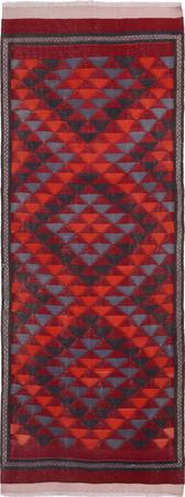 Hand Knotted Iran Kilim 4'3