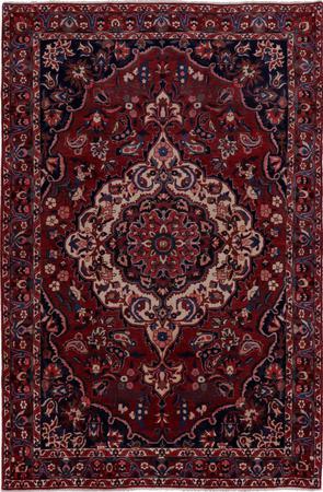 Hand Knotted Iran Bakhtiari 6'8