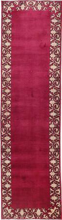 """Hand Knotted Iran Tabriz 2'8"""" x 9'6"""" Purple LT"""