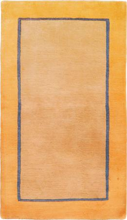 "Hand Knotted India Gabbeh 2'11"" x 5' Tan Rug"