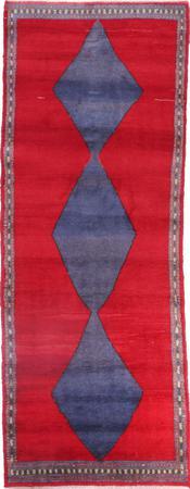 Hand Knotted Iran Shiraz 3'8