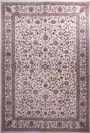 Hand Made India Kashan 12'2