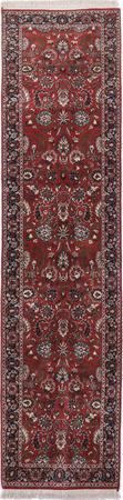 "Hand Made India Sarouk 2'7"" x 10' Orange DK"
