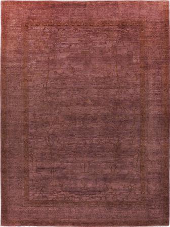 "Hand Made Pakistan Ziegler 9' x 11'8"" Purple LT"