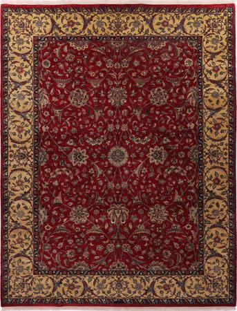 Hand Made India Tabriz 9' x 11'7