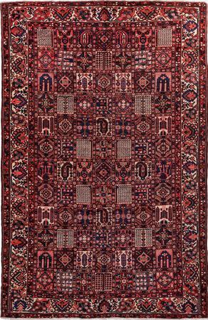 "Hand Knotted Iran Bakhtiari 10' x 15'7"" Multi"