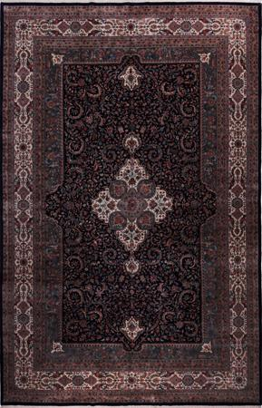 "Hand Made India Mahal 11'8"" x 17'9"" Blue DK Rug"