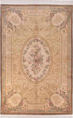 Hand Made China Aubusson 6' x 9'  Rug