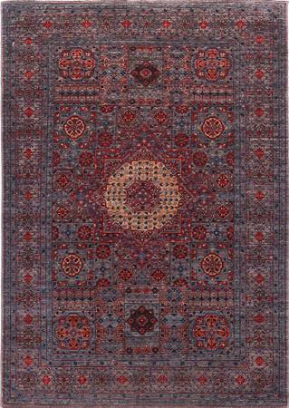 Hand Made Pakistan Mamluk 4' x 5'8