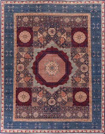 Hand Made Pakistan Mamluk 9' x 11'6