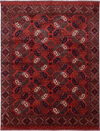 Hand Made Afghanistan Veg Dye 9'11''x12'11'' Rust
