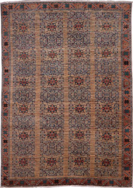 Hand Made Afghanistan Gabbeh 8'3''x11'6'' Multi
