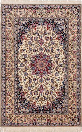 Hand Knotted Iran Isfahan 5'2