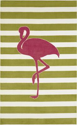 Mohawk Aurora (Kids) Fancy Flamingo Green
