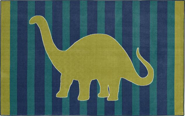 Mohawk Aurora (Kids) Friendly Dinosaur Blue/Navy