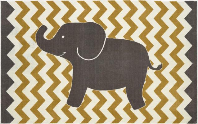 Mohawk Aurora (Kids) Lucky Elephant Yellow/Gold