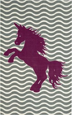 Mohawk Aurora (Kids) Majestic Unicorn Royal Gray/Silver