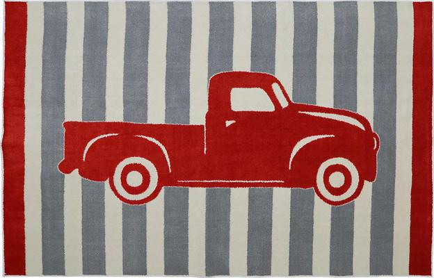 Mohawk Aurora (Kids) Vintage Truck Red/Burgundy