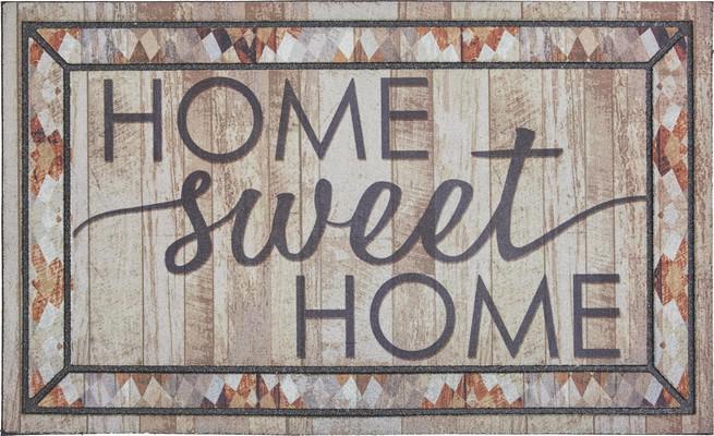 Mohawk Doorscapes Mat Rustic Sweet Home Beige/Tan