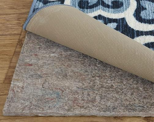 Mohawk Dual Surface 1/4 inch Rug Pad Gray/Silver