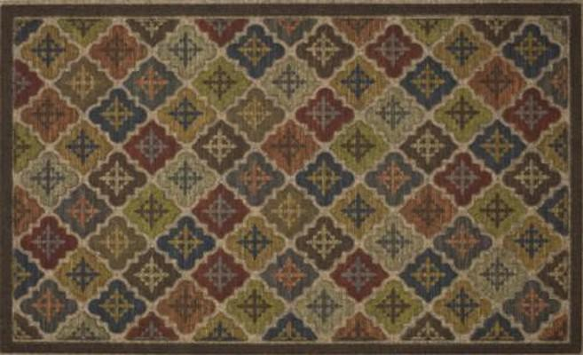 Mohawk Ornamental Entry Mat Arabian Impressions Brown