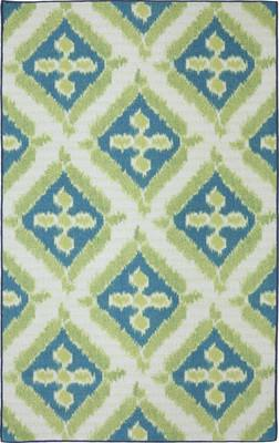 Mohawk Printed Indoor/Outdoor Summer Splash Green