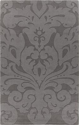 Chandra Mystica MYS-29802 Gray/Silver Rectangle 5X8