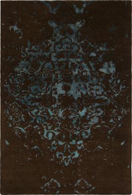 Chandra Veleno VEL-29301 Brown Rectangle 9X13