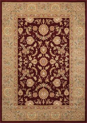 Nourison Antiquities ANT01 Red/Burgundy