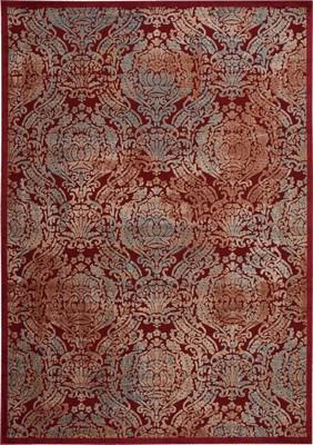 Nourison Graphic Illusions GIL09 Red/Burgundy