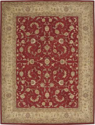 Nourison Heritage Hall HE04 Red/Burgundy