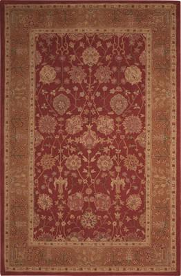 Nourison Heritage Hall HE13 Red/Burgundy