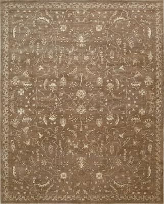 Nourison Silk Elements SKE02 Brown