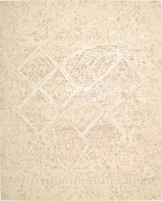 Nourison Silk Elements SKE20 White/Ivory