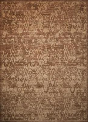 Nourison Silken Allure SLK17 Brown