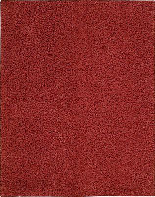 Nourison Zen ZEN01 Red/Burgundy