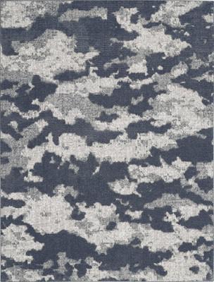 Nourison Zermatt ZER01 Blue/Navy