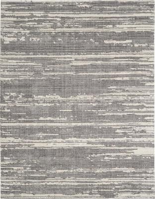 Nourison Zermatt ZER02 Gray/Silver