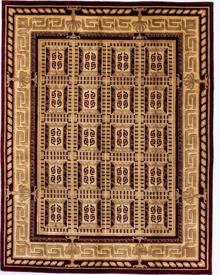 India Art Deco 8X10