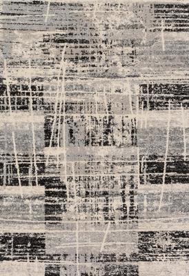 Loloi Emory EB-06 Gray/Silver Rectangle 5X8