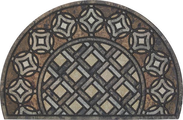 Mohawk Doorscapes Estate Mat Deco Tile Slice