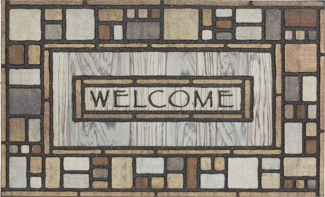 Mohawk Doorscapes Estate Mat Welcome Drifted