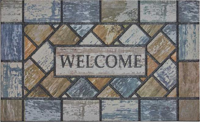 Mohawk Doorscapes Mat Welcome Drifted Color