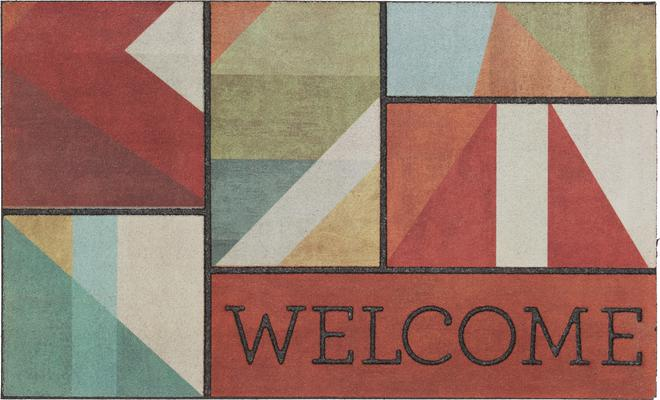 Mohawk Doorscapes Mat Welcome Framework Spice
